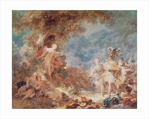 Rinaldo in the Gardens of Armida by Jean-Honore Fragonard