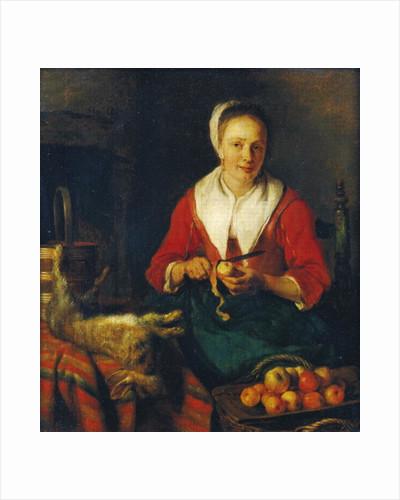 The Apple Peeler by Gabriel Metsu