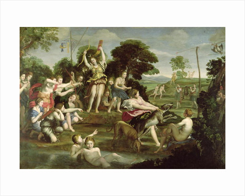 The Hunt of Diana by Domenichino