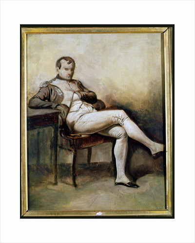 Napoleon I Seated in an Armchair by French School