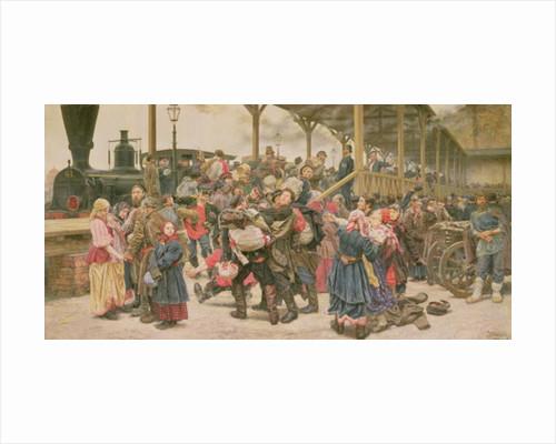Departing for the War by Konstantin Apollonovich Savitsky