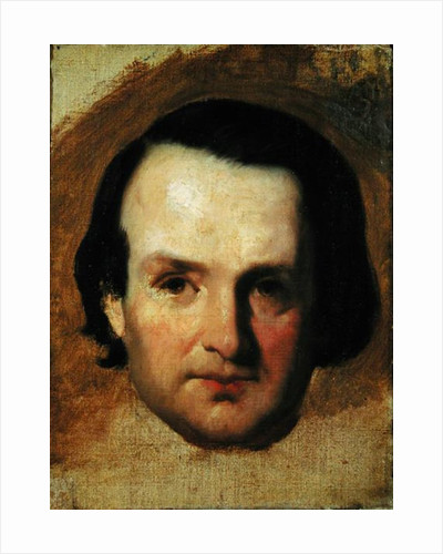 Study for a portrait of Victor Hugo c.1836 by Francois Joseph Heim