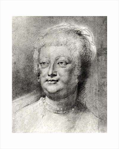 Portrait of Marie de Medici by Peter Paul Rubens