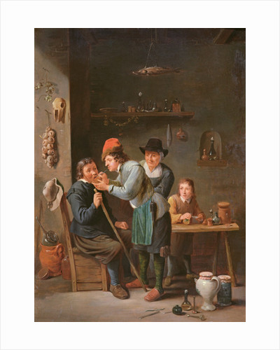 The Tooth Extractor by David the Younger Teniers