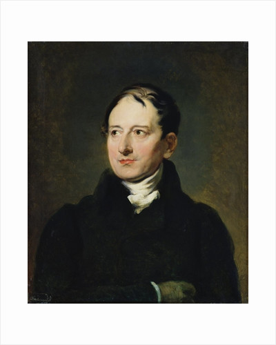 Baron Francois Pascal Simon Gerard copy of a portrait by Thomas Lawrence by Jean Alaux