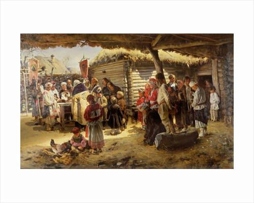 Easter Te Deum by Vladimir Egorovic Makovsky