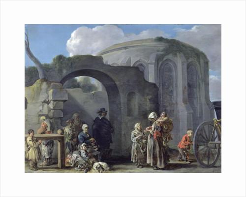 The Beggars by Sebastien Bourdon