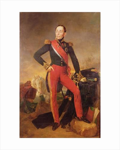 Portrait of Marquis Emmanuel de Grouchy Marshal of France by Jean Sebastien Rouillard
