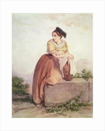 Arlesienne from the Time of Daudet and Bizet by Jean Joseph Bonaventure Laurens