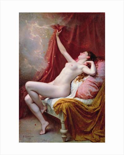 Danae by Alexandre-Jacques Chantron