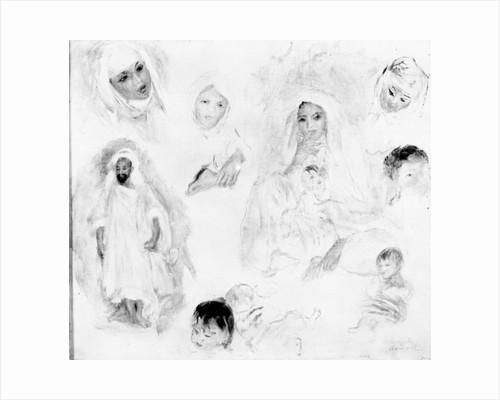 Arabs by Pierre Auguste Renoir