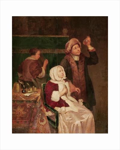 The Doctor's Visit by Frans van Mieris