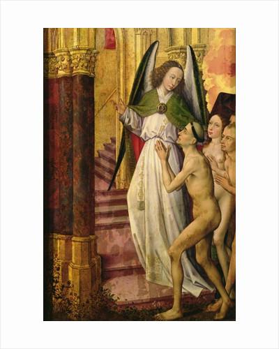 The Good being led to Heaven by Rogier van der Weyden