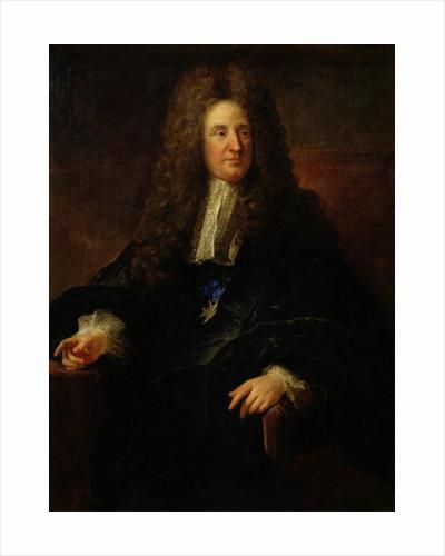 Portrait of Jules Hardouin Mansart by Francois de Troy