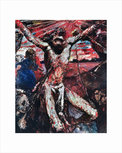 The Red Christ by Lovis Corinth