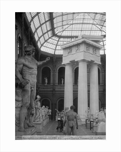 Ecole Nationale des Beaux-Arts, Palais des Etudes, the glass courtyard by Adolphe Giraudon