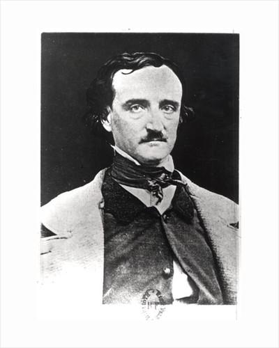 Portrait of Edgar Allan Poe by Sarah Ellen Whitman