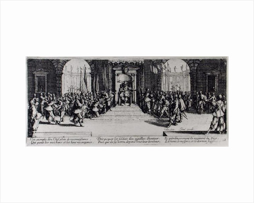 The Awarding of Honours by Jacques Callot