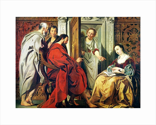 Christ at the House of Martha and Mary of Bethany by Jacob Jordaens