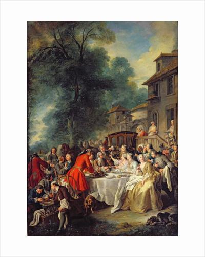 The Hunt Lunch by Jean Francois de Troy