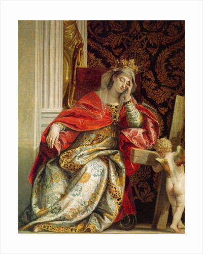Portrait of Saint Helena by Veronese