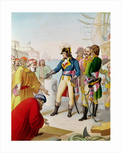 The Disembarkation of Napoleon at Alexandria in 1798 by French School