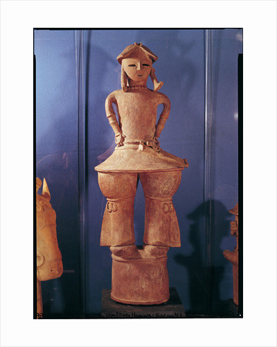 Haniwa figure by Japanese School
