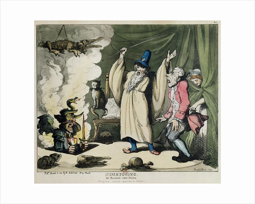 Humbugging or Raising the Devil by Thomas Rowlandson