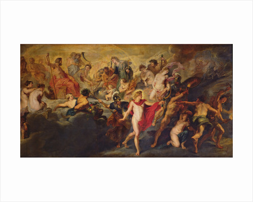 The Medici Cycle: Council of the Gods for the Spanish Marriage by Peter Paul Rubens