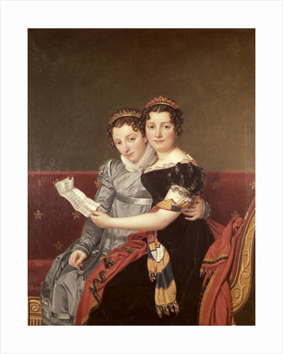 Zenaide and Charlotte Bonaparte by Jacques Louis David