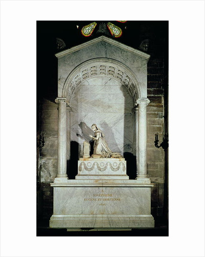Tomb of Empress Josephine by Pierre Cartellier