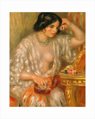 Gabrielle with Jewellery by Pierre Auguste Renoir