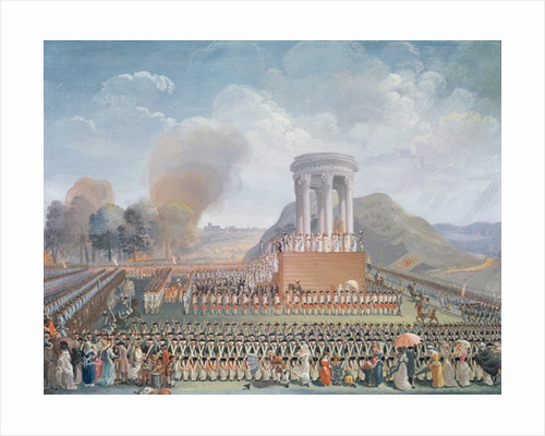 Festival of the Federation by Jean Alexis Cornu