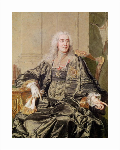 Marc Pierre de Voyer Count of Argenson by Hyacinthe Francois Rigaud