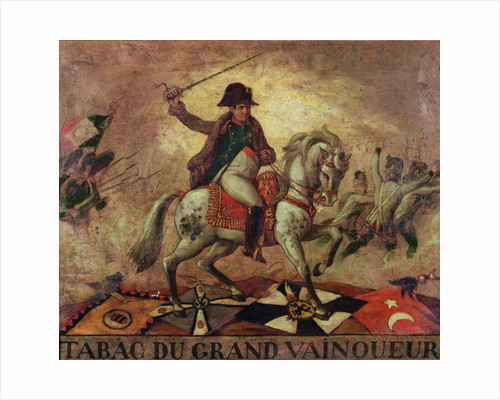 'Tabac du Grand Vainqueur', tobacconist's sign depicting Napoleon I by French School