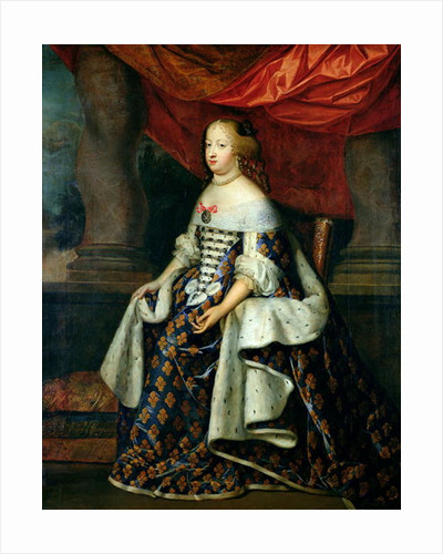 Portrait of Marie-Therese of Austria by Charles Beaubrun