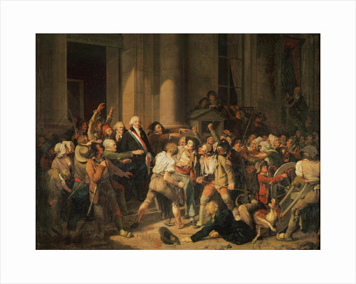 Act of Courage of Monsieur Defontenay, Mayor of Rouen by Louis Leopold Boilly