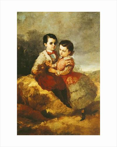 The Artist's Children by Eugenio Lucas y Padilla