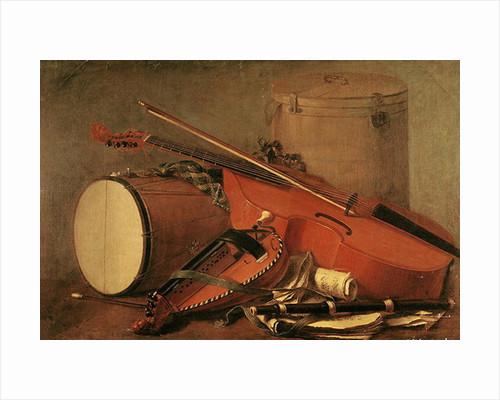 Musical Instruments by Henri Horace Roland de la Porte