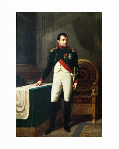 Portrait of Napoleon Bonaparte by Robert Lefevre