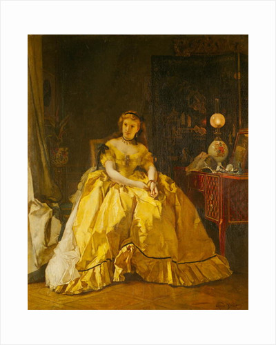 After the Ball by Alfred Emile Stevens