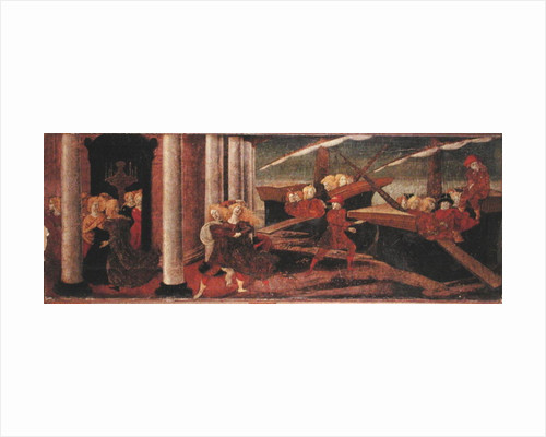 The Abduction of Helen by Liberale da Verona
