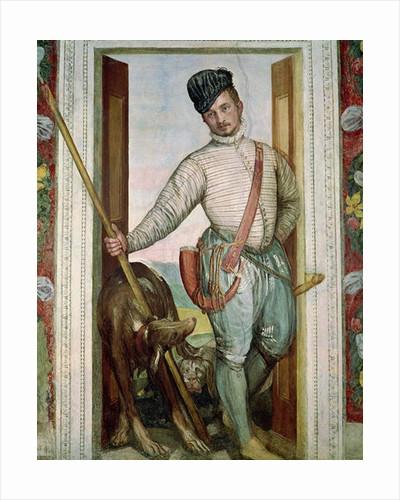 Self Portrait in Hunting Costume by Veronese