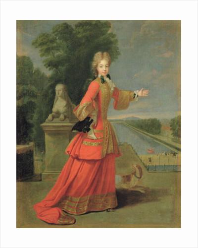 Marie-Adelaide de Savoie in Hunting Dress by Pierre Gobert