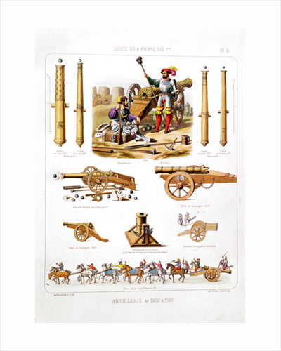 French artillery between 1500-50 by Johannes Moltzheim