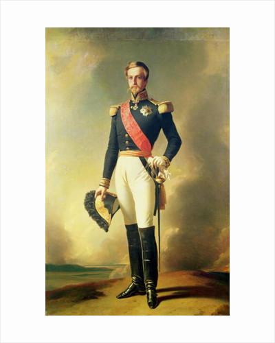 Portrait of Henri-Eugene-Philippe-Louis d'Orleans Duke of Aumale by Franz Xaver Winterhalter