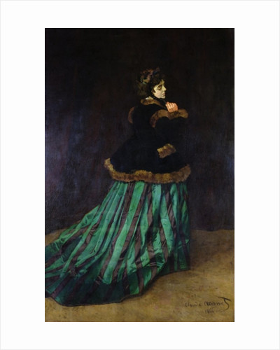 Camille, or The Woman in the Green Dress by Claude Monet