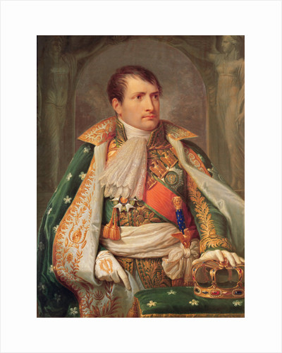 Napoleon I King of Italy by Andrea the Elder Appiani