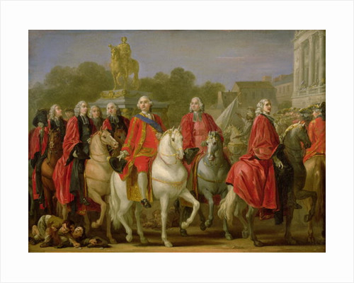 Inauguration of the Place Louis XV by Joseph-Marie