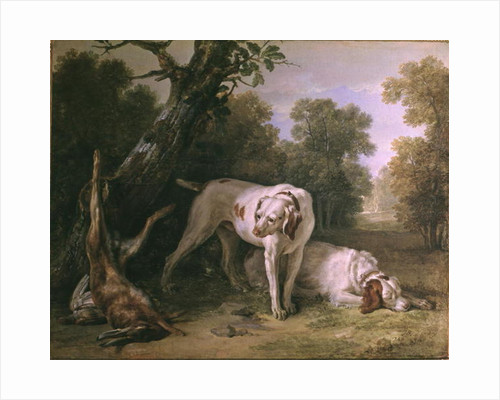 Dog and Hare by Jean-Baptiste Oudry